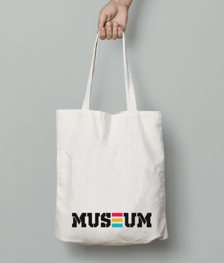 Museum tote bag front