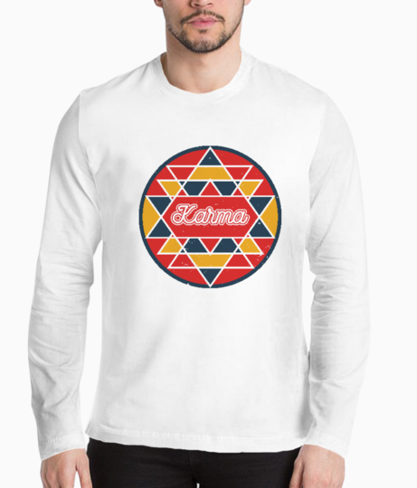 Karma henley front