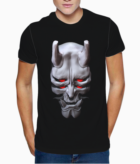 Oni mask5 t shirt front