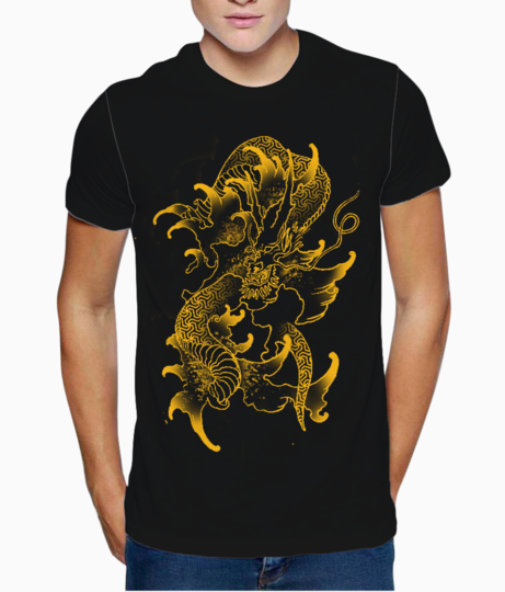 Sacred dragon t shirt front