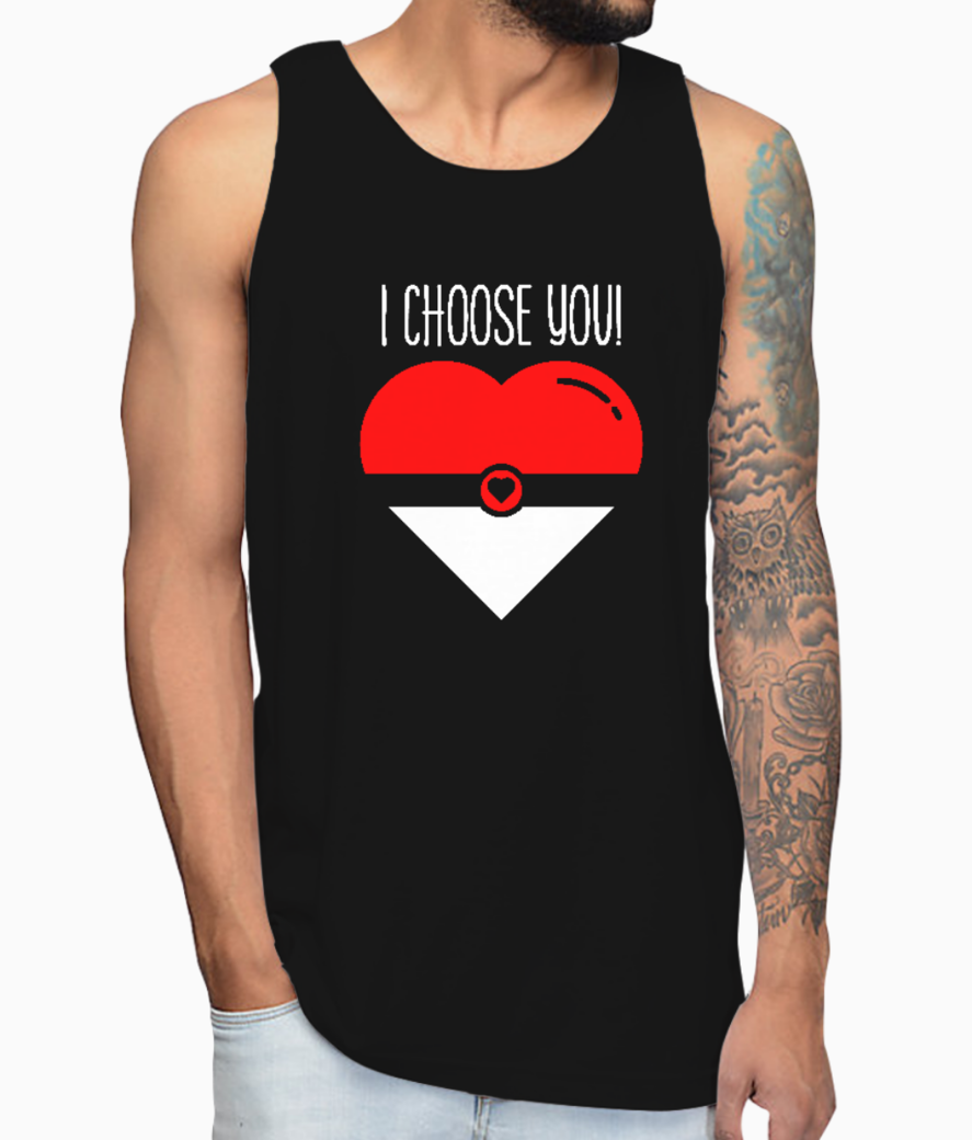 Choose you vest front