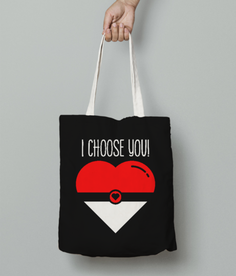 Choose you tote bag front