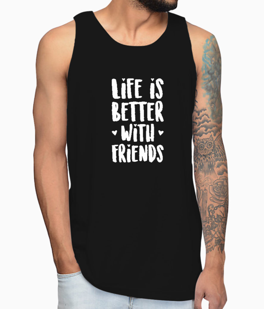 Better friends vest front