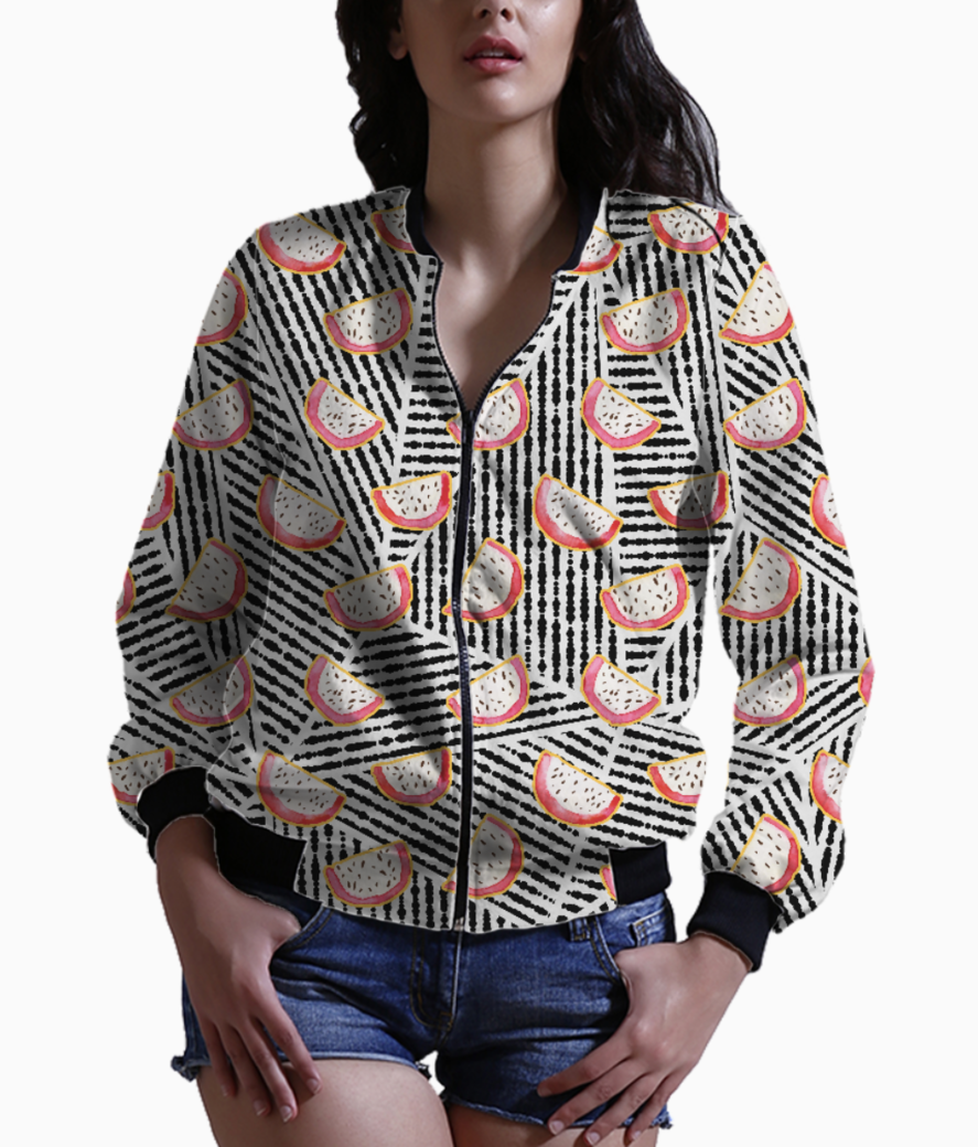Dragonfruits galore bomber front