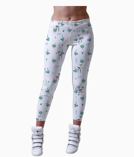 A deer winter leggings front