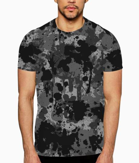 Ucly camo 01 t shirt front