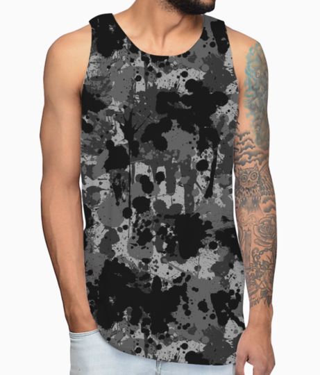 Ucly camo 01 vest front