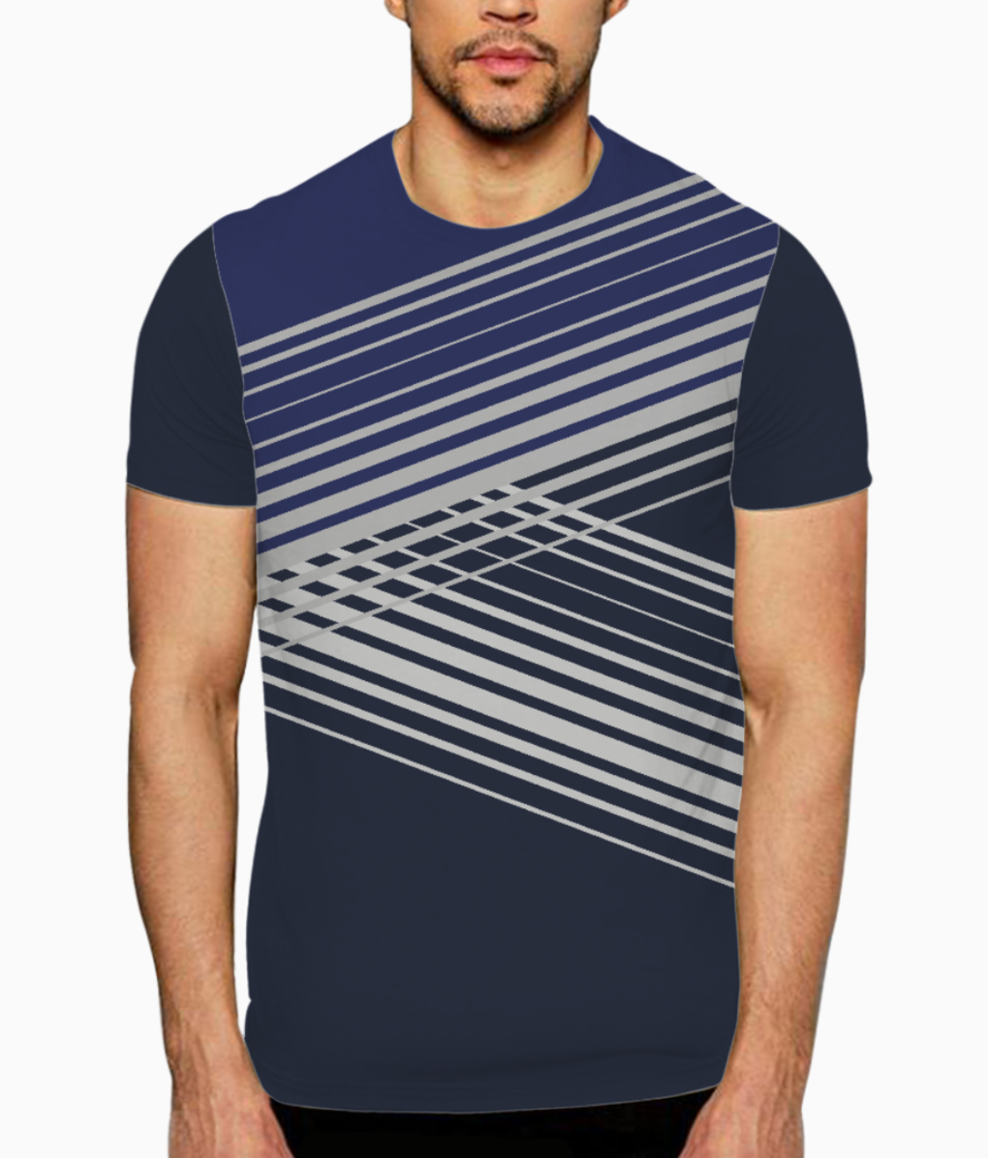 Ucly geo 01 t shirt front
