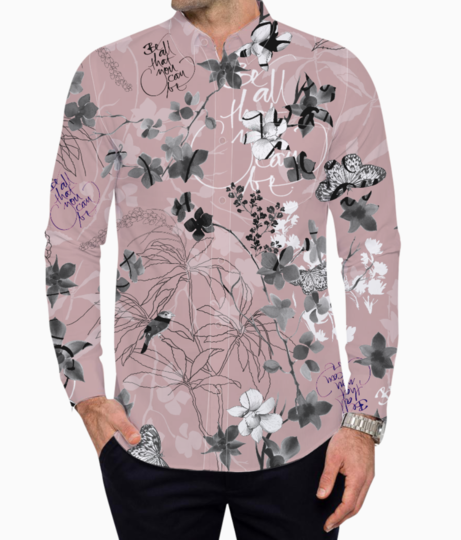 Botanical life basic shirt front