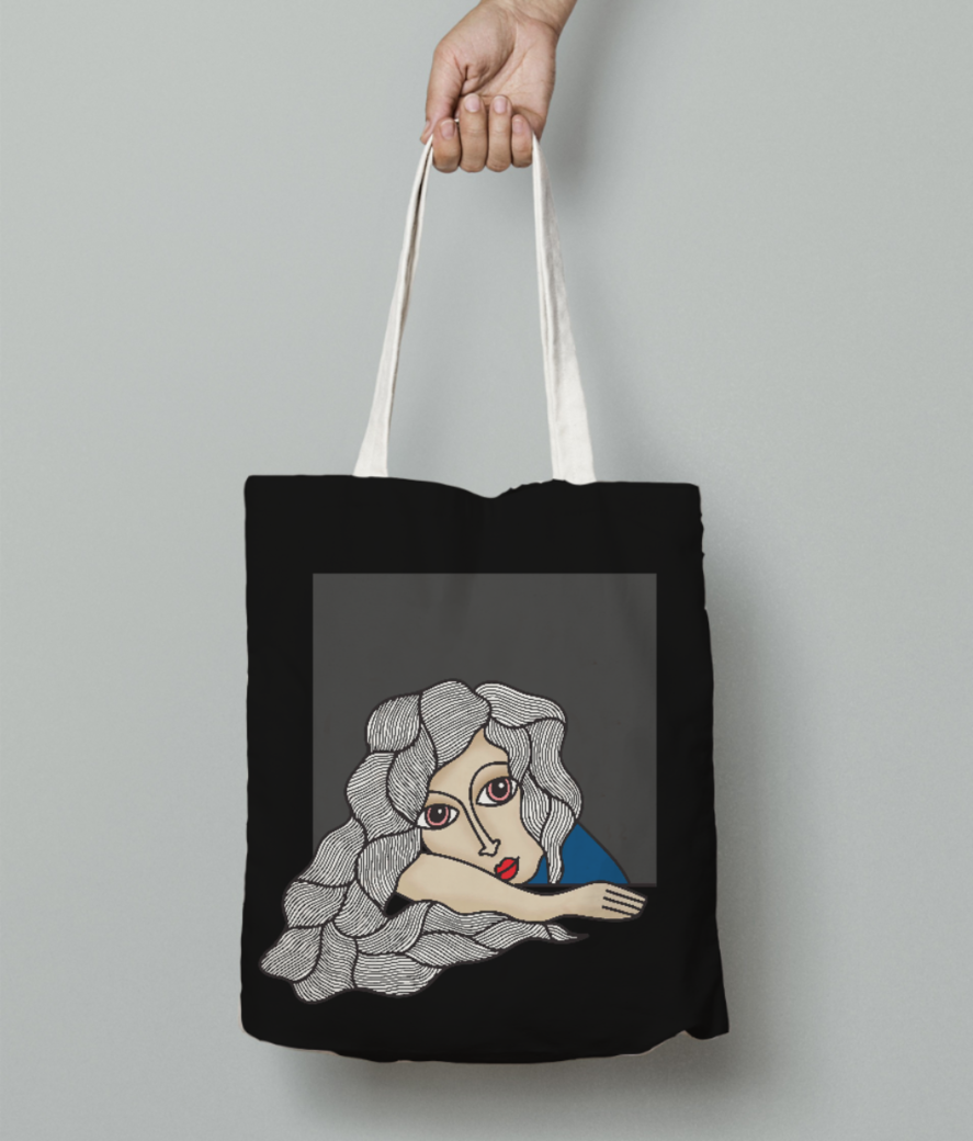 Wonder tote bag front