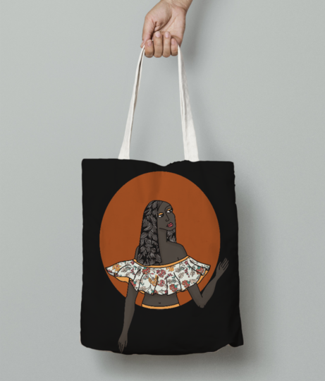 Where am i tote bag front