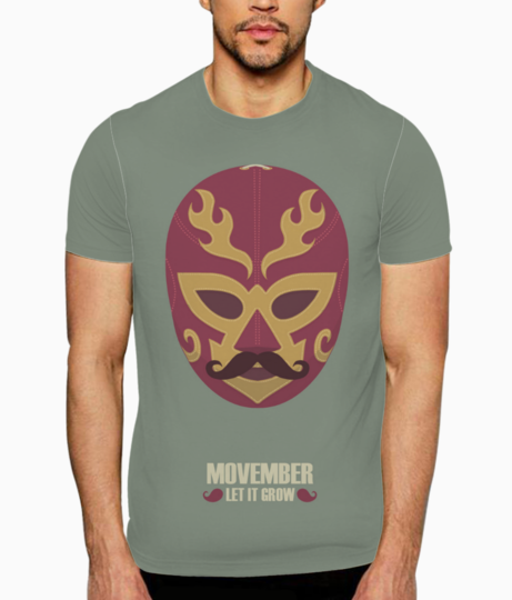Movember let it grow t shirt front