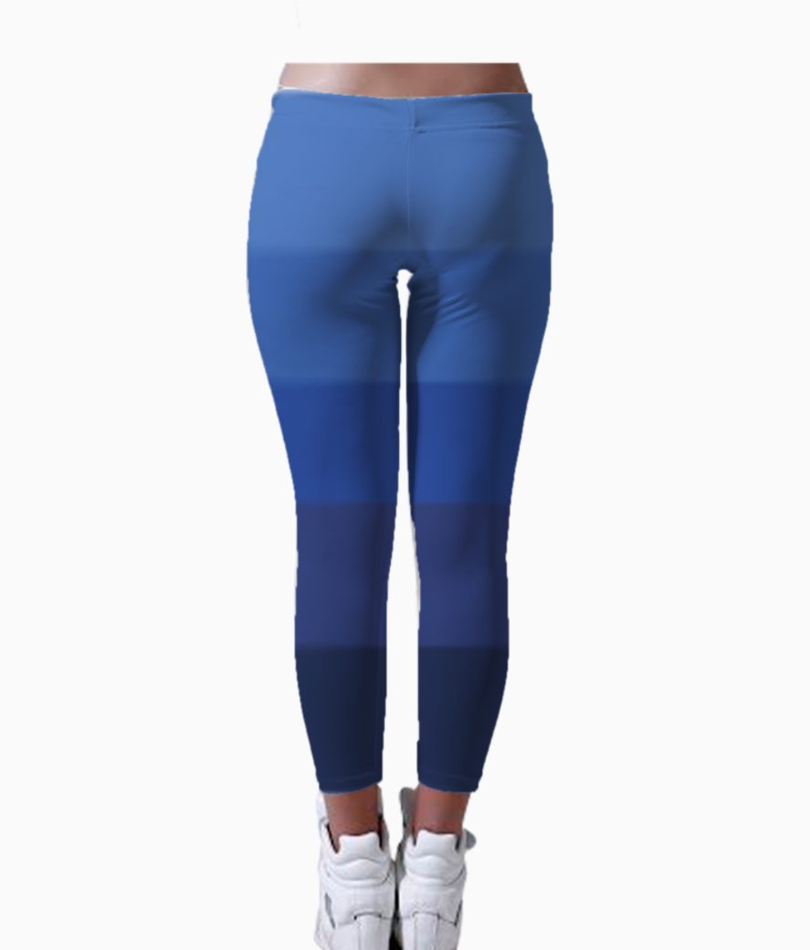 Ombre 01 leggings back