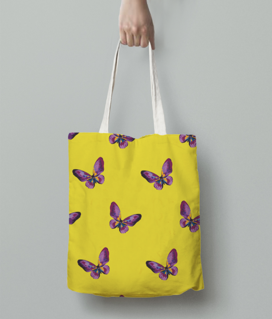 Butterfly 01 tote bag back
