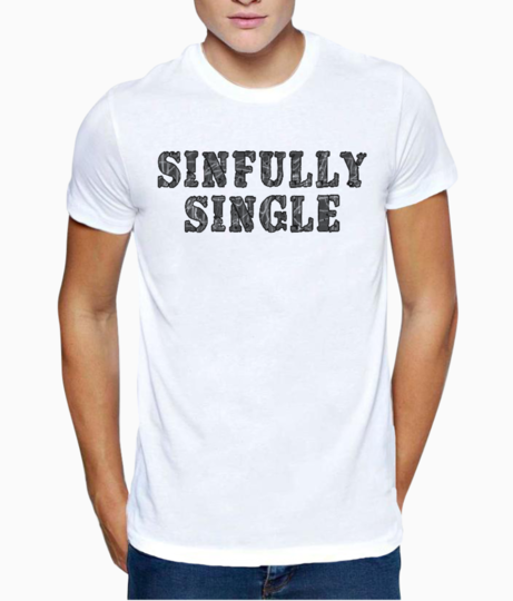 Single t shirt front