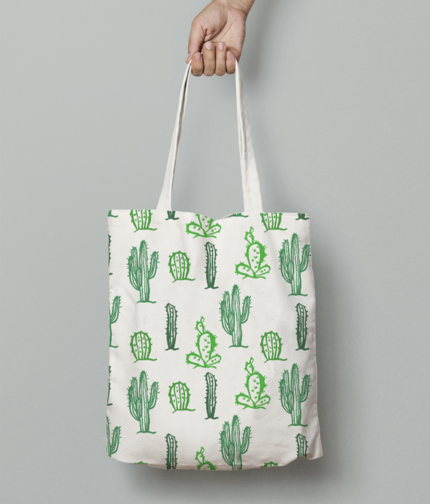 Don't bea prick tote bag front