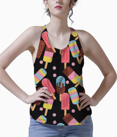 Welcoming summer tank front