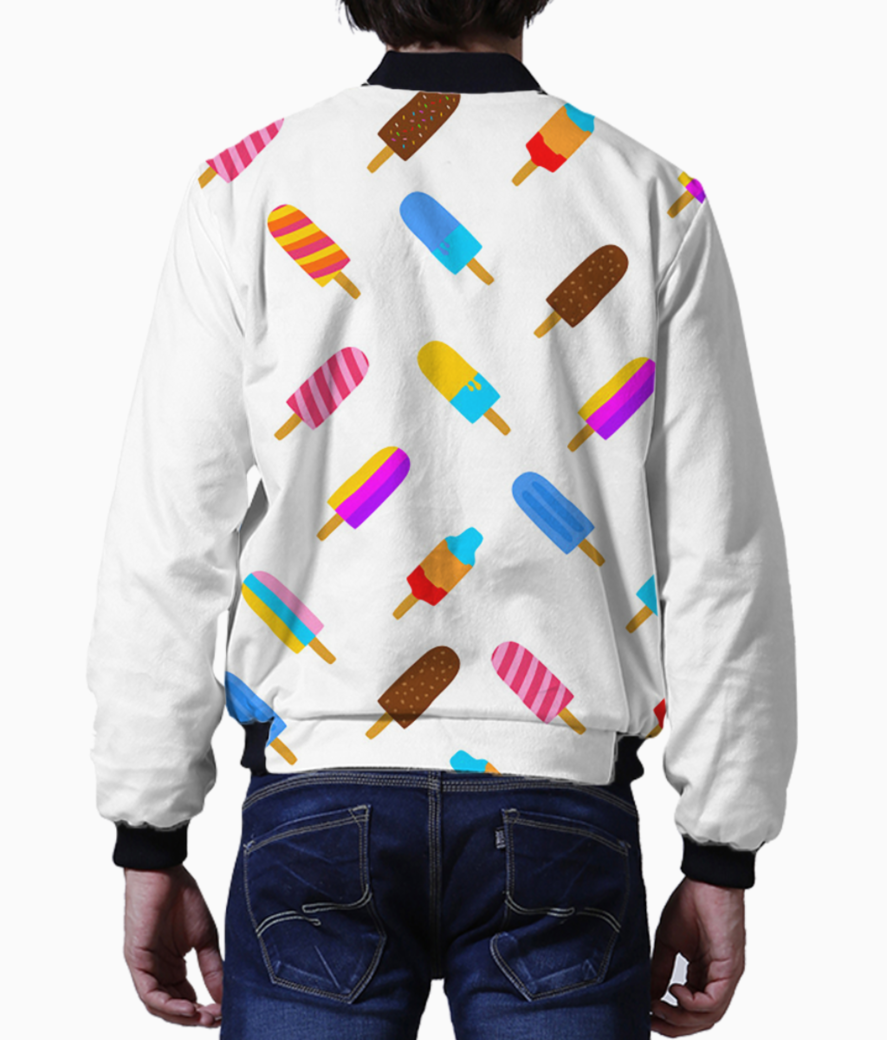 Colorful popsicle bomber back