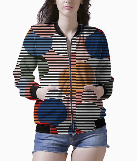 Illusion bomber front