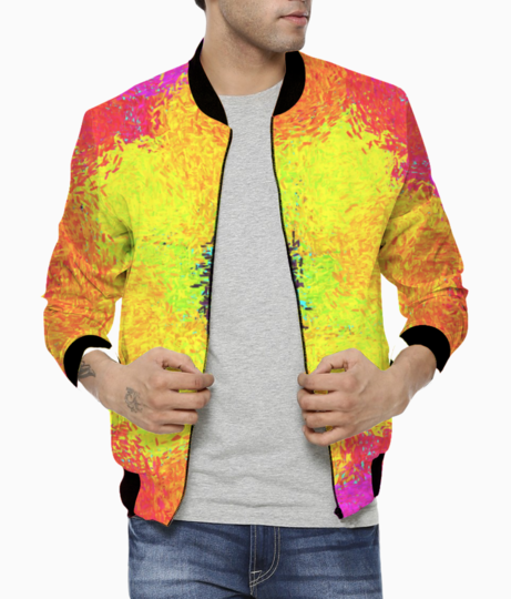 Color bomber front