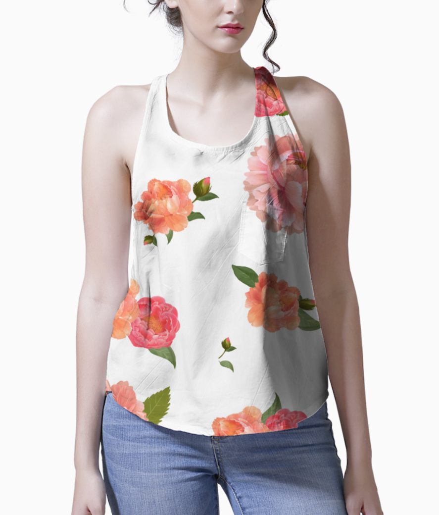Floral 3 tank front