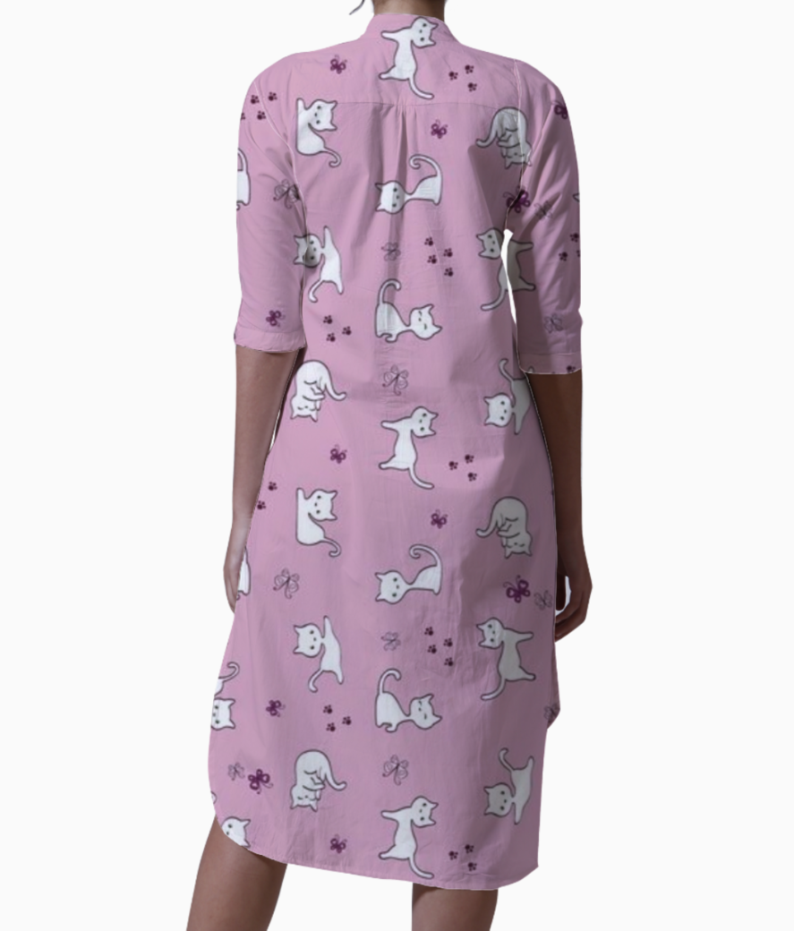 Kitty kurti back