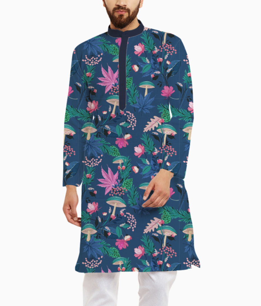 Autumn seamless pattern 44285 809 kurta front
