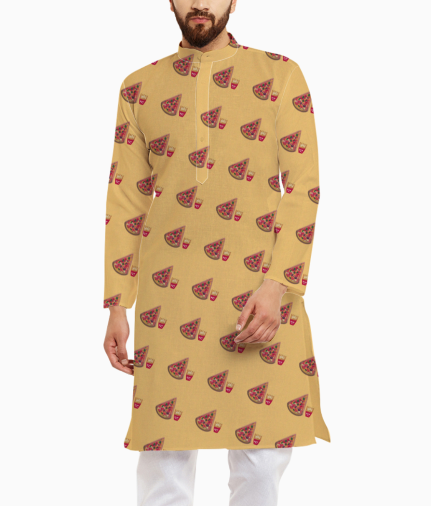 Pizza kurta front