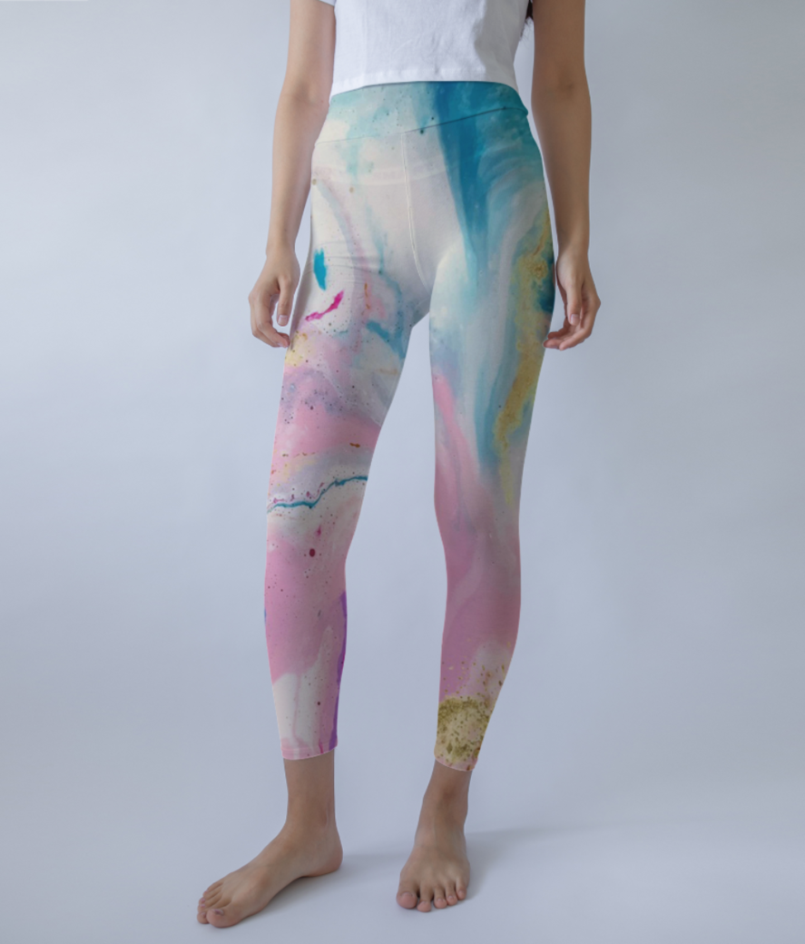 Untitled 1 leggings front