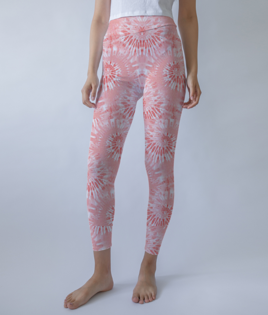 Spirals leggings front