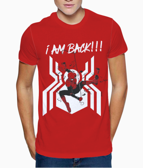 Spiderman 2 t shirt front