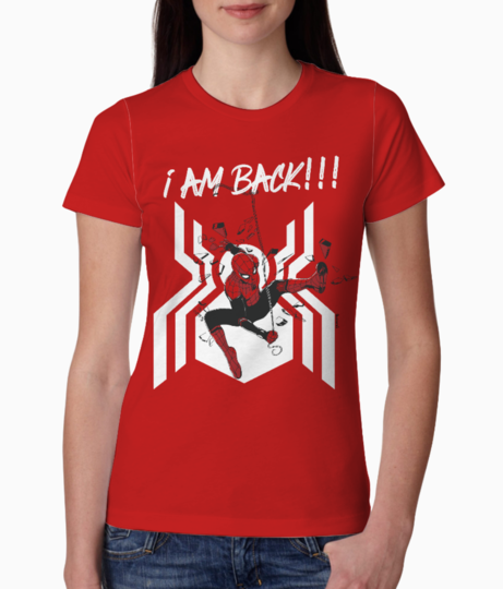 Spiderman 2 tee front