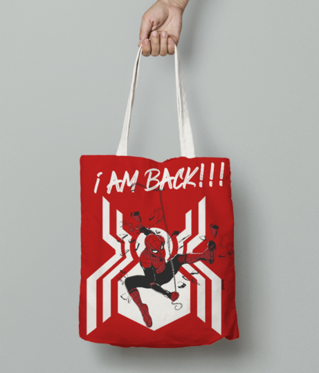 Spiderman 2 tote bag front