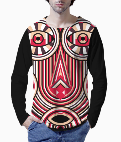Abstract ancient henley front