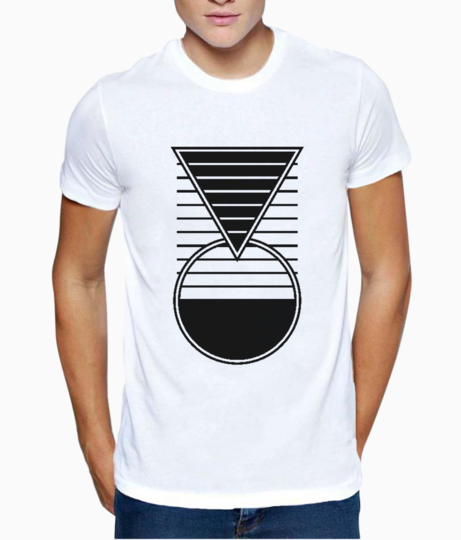 Smarter geometry t shirt front