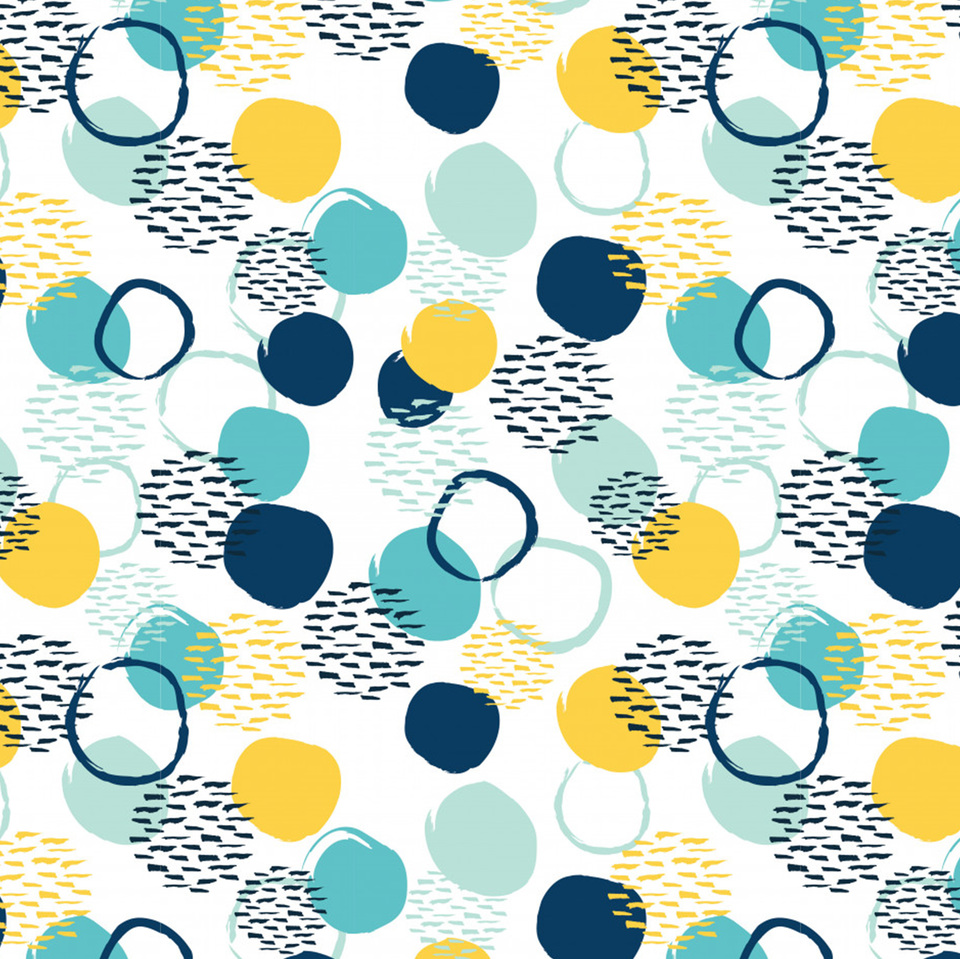 Abstract circle seamless pattern 8339 95