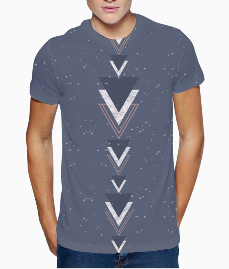 Triangles 1 t shirt front