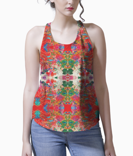 Red white dream 2 tank front