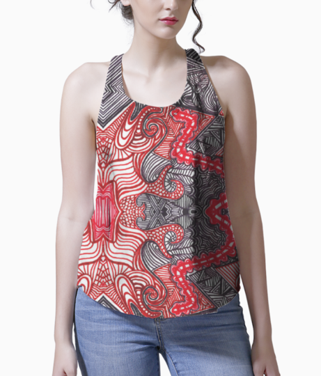 Abstract blur tank front
