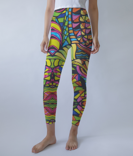 Confusion' leggings front