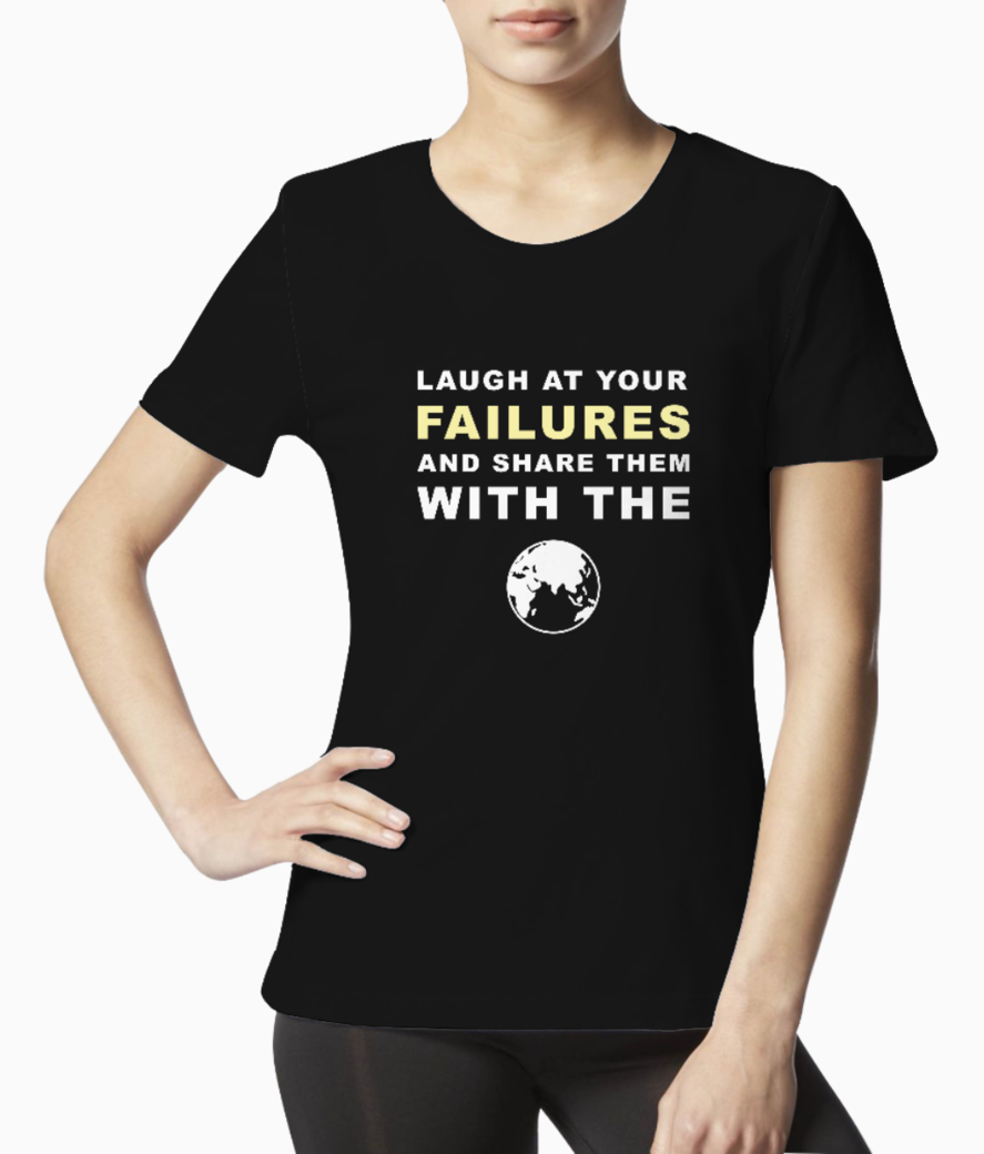 Failures world tee front