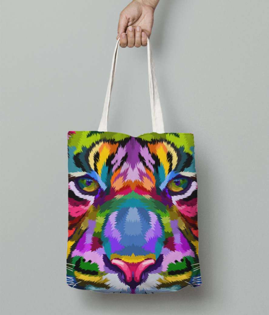 Wildcolors tote bag front