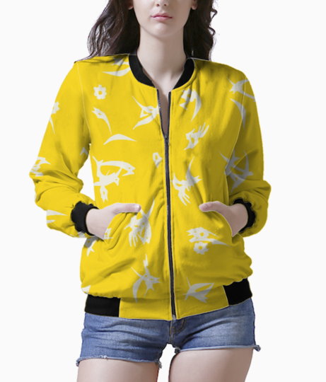 Yellow bomber front