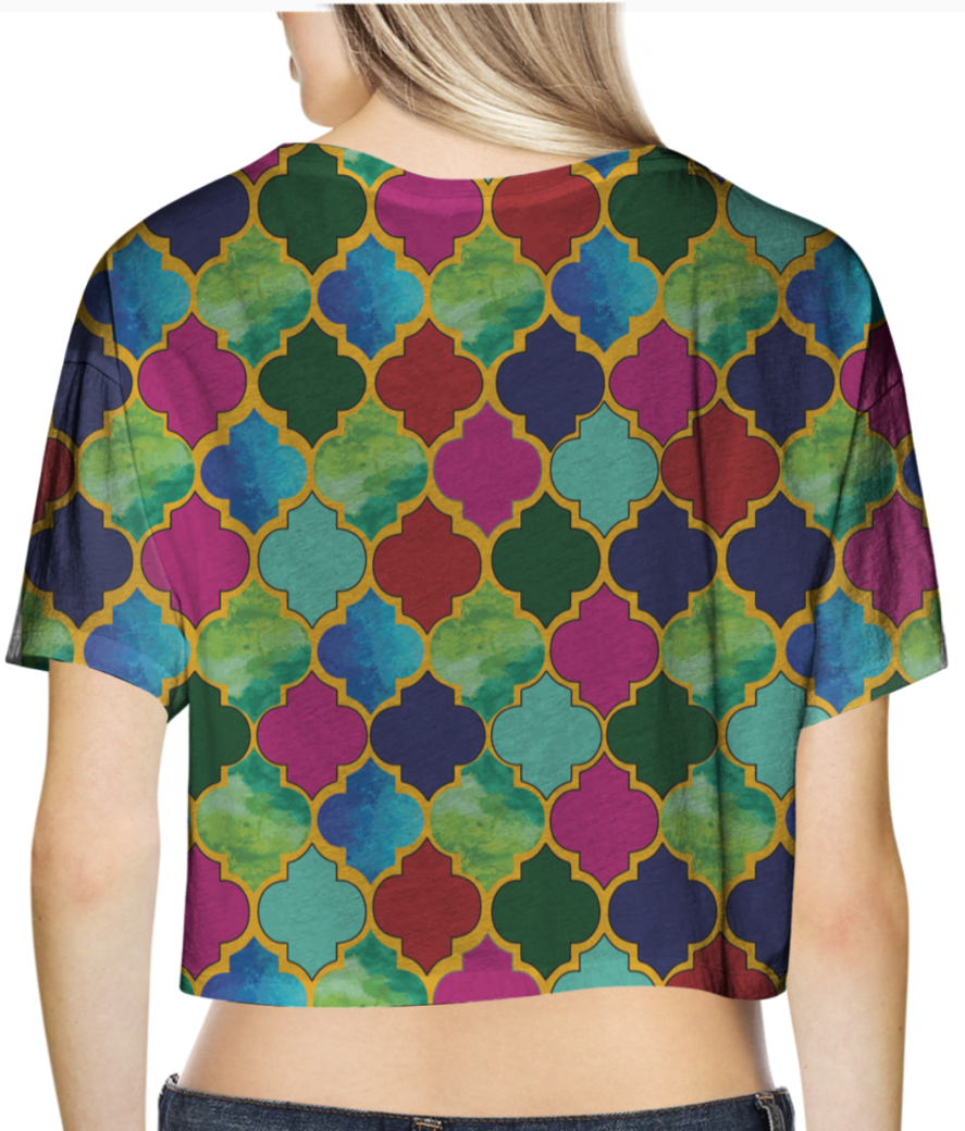 Anju crop top back