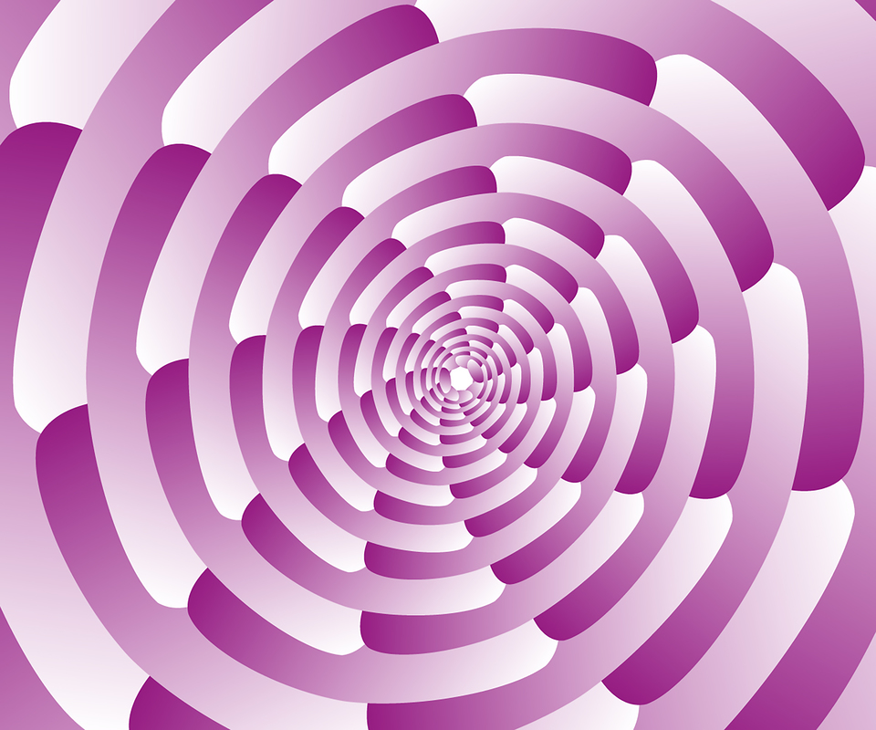 Abstract pink spiral background wallpaper