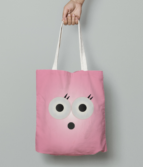 Rosy beauty with pink background 01 tote bag front