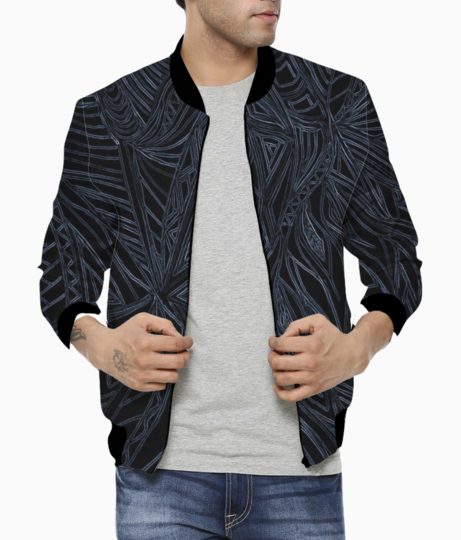 Ash lines bomber front