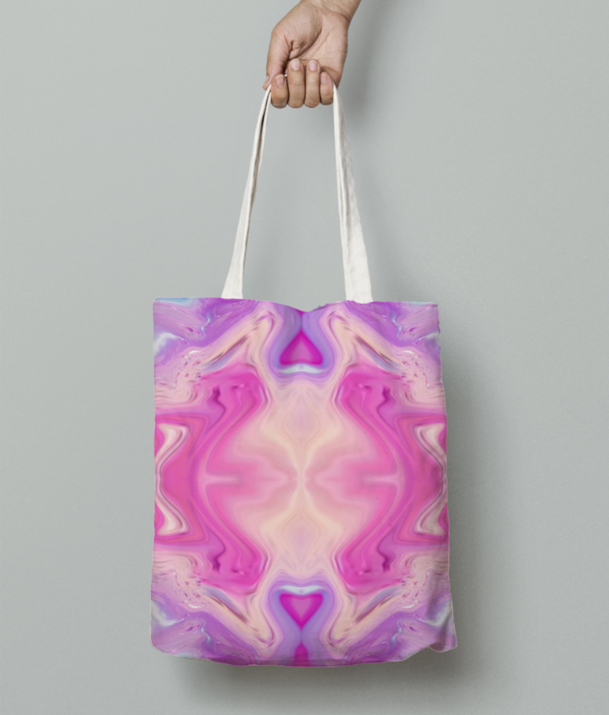 M tote bag front