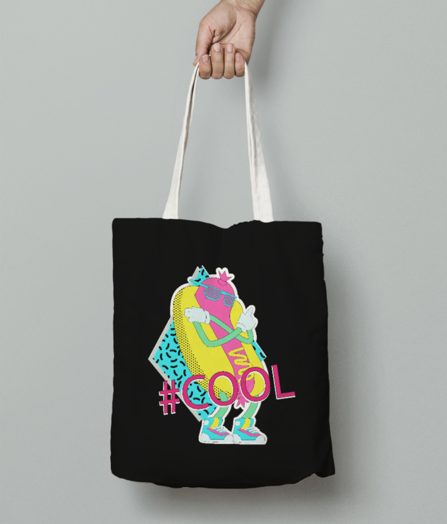 cool tote bag front