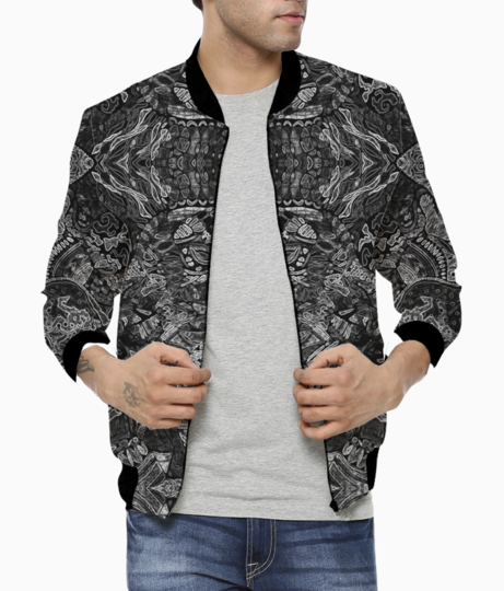 Abstract kaleidescope 2 bomber front